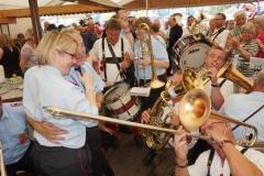 2015 Schützenfest in Esens mit unseren Freunden vom Musikzug Middels