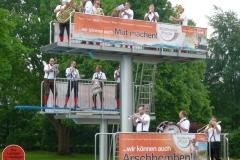 2018 Die Lustigen Egerländer zu Besuch im Freibad Rhede